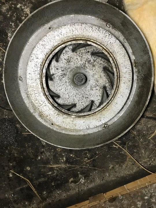 Køkken udsugning efter ventilator efter ventilationsrens københavn og sjælland