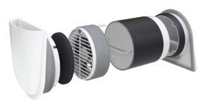 decentral ventilation med varmegenvinding