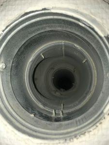 rensning af ventilationskanal anlæg efter