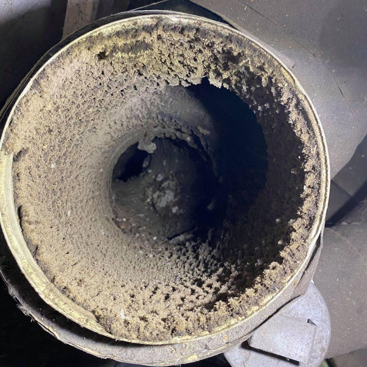 ventilationsrensning før